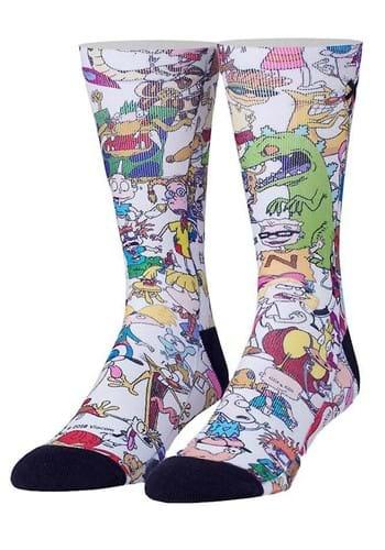 Nickelodeon 90's Squad Sublimated Socks