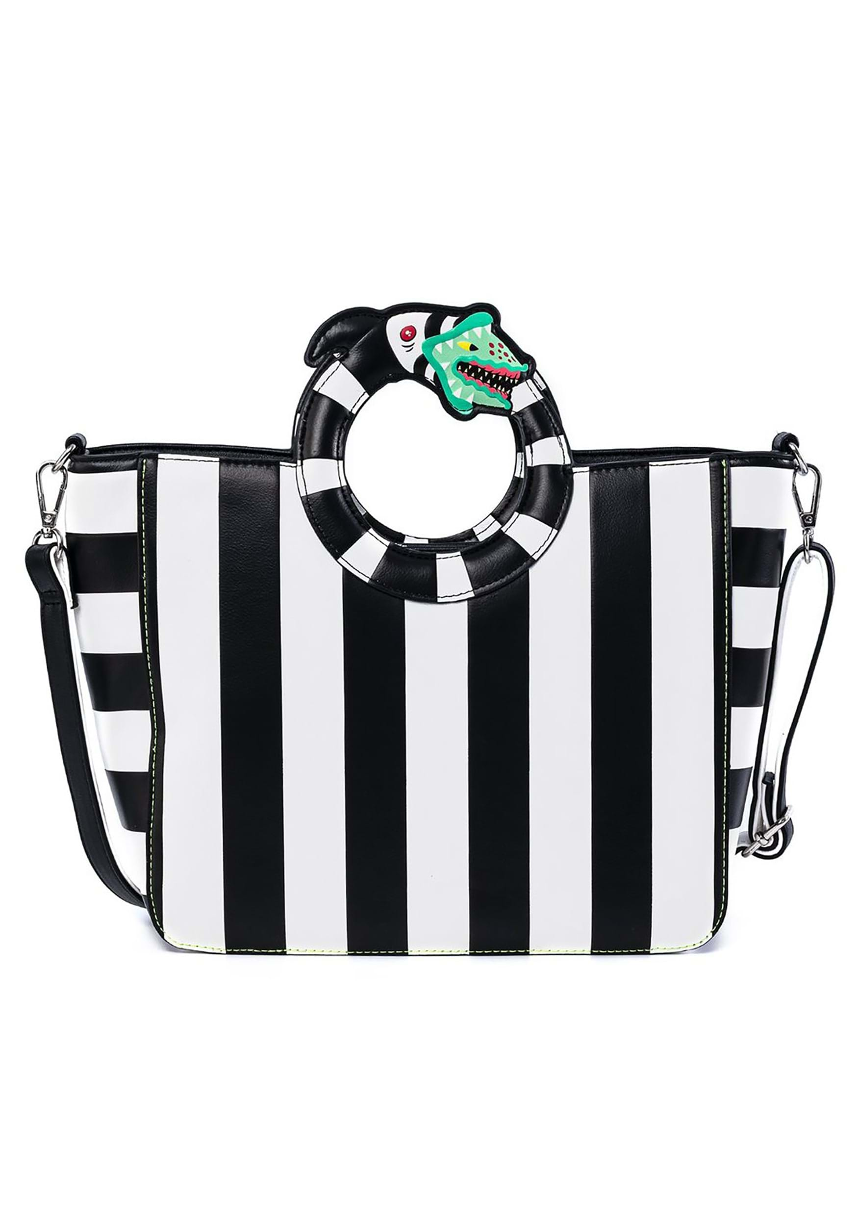Beetlejuice Sandworm Loungefly Handle Crossbody Bag