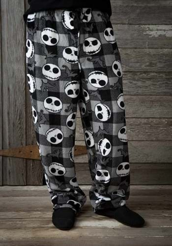 Mens NBC Jack & Bats Plush Pajama Pants