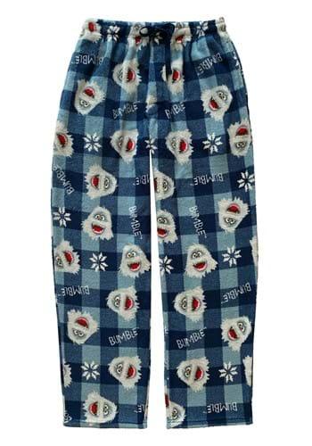 Mens Bumble & Snowflakes Pajama Pants