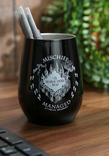MARAUDERS MAP CIRCLE MISCHIEF 10oz DOUBLE WALL STAINLESS STE