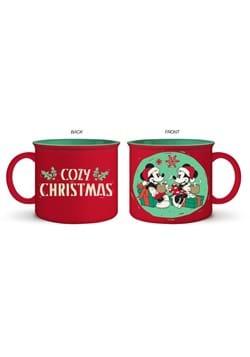 MICKEY AND MINNIE COZY CHRISTMAS JUMBO 20oz CERAMI