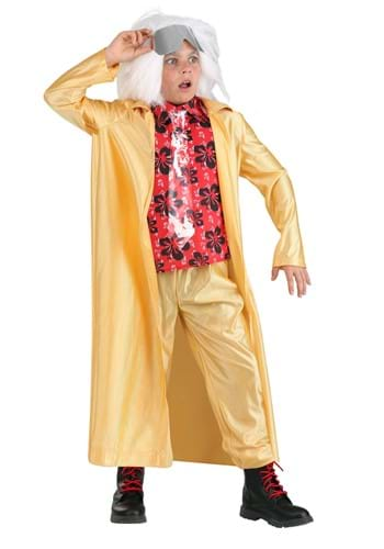 Kids Back to the Future 2015 Doc Brown Costume