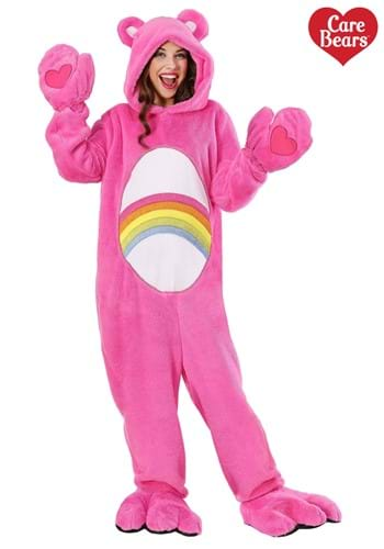 Plus Size Care Bears Deluxe Cheer Bear Costume-1