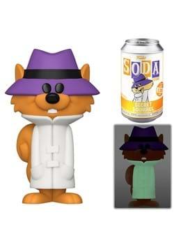 Vinyl SODA: Hanna Barbera- Secret Squirrel Figure