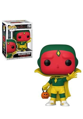 Funko Pop Marvel WandaVision Halloween Vision