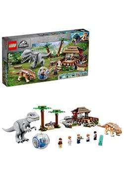 LEGO Jurassic World Indominus Rex vs Ankylosaurus