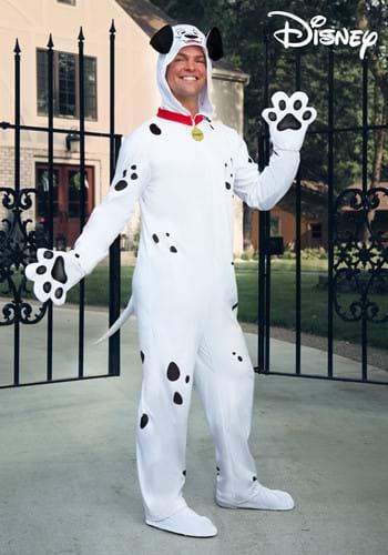 101 Dalmatians Pongo Costume Onesie for Adults-2