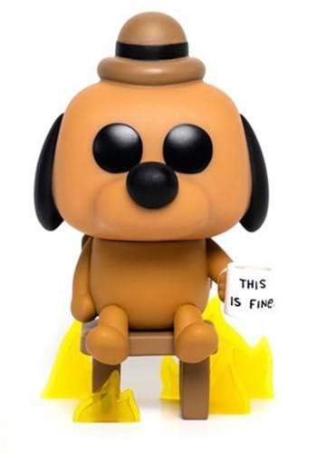 Pop Vinyl Figure This is Fine Dog