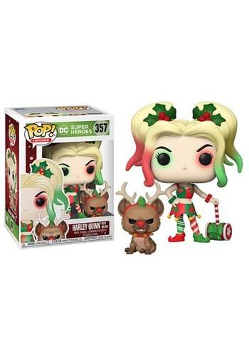 POP&Buddy:DC Holiday-Harley Quinn w/Helper