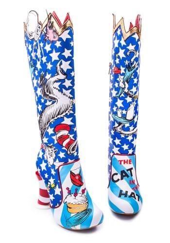 """Irregular Choice """"The Cat in the Hat"""" Thigh High Boots"""