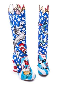 "Irregular Choice ""The Cat in the Hat"" Thigh High Boots"