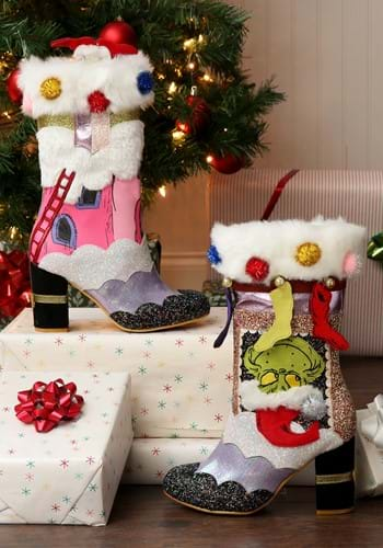 Irregular Choice The Grinch I m Here for the Presents Boots-