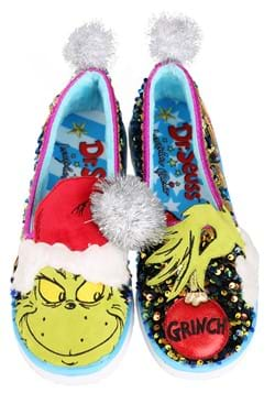 Irregular Choice The Grinch Rebel With a Cause Slippers Main
