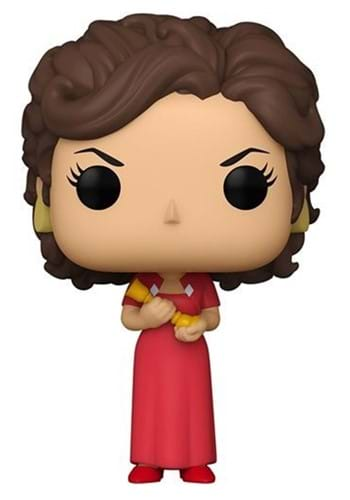 POP Vinyl Clue Miss Scarlet with Candlestick