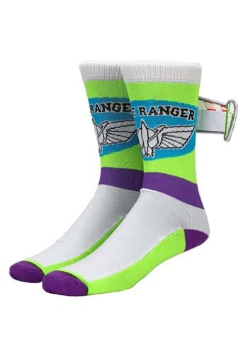Toy Story Buzz Lightyear Crew Socks for Adults