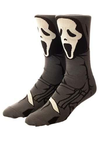 Scream Ghostface 360 Character Crew Sock