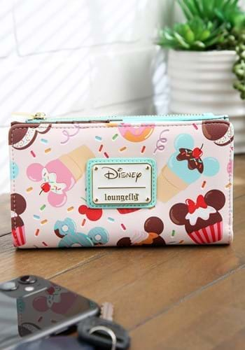Loungefly Mickey and Minnie Mouse Sweets Flap Wallet-1