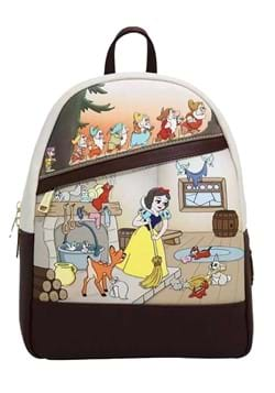 Snow White and the Seven Dwarfs Multi Scene Mini Backpack