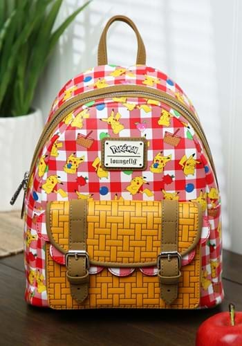 Pikachu Picnic Basket Mini Backpack