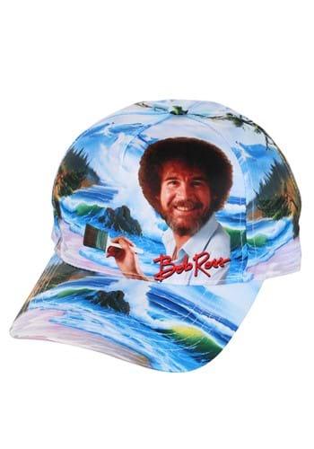 Bob Ross Painting Baseball Cap