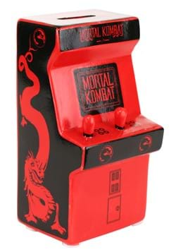 MORTAL COMBAT ARCADE SMALL CERAMIC COIN BANK