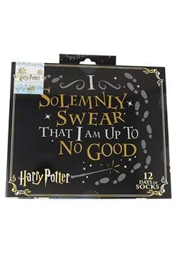 Harry Potter 12 Days Sock Gift Giving Box