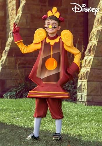 Beauty and the Beast Cogsworth Boys Costume