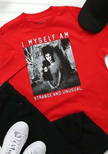 Adult Beetlejuice Lydia Strange and Unusual T-Shirt Update 1