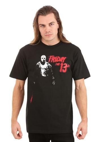 Jason Vorhees Friday the 13th Adult Black T-Shirt Update