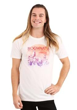 Adult Harry Potter Red Moon Hogwarts T-Shirt Alt 1