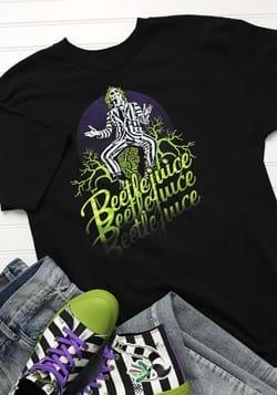 Adult Beetlejuice Beetlejuice Beetlejuice T-Shirt Update 1