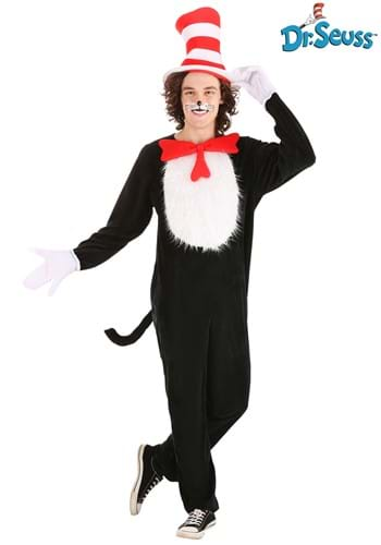Adult Plus Size Cat in the Hat Costume