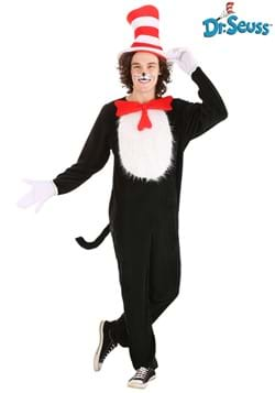 Cat in the Hat Costume for Adults