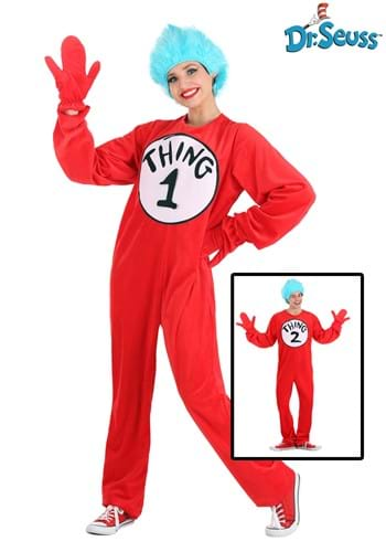 Thing 1&2 Adult Costume