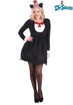 Cat in the Hat Womens Costume
