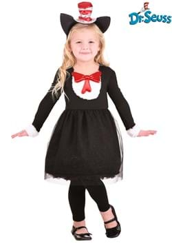 Girl's Cat in the Hat Toddler Costume