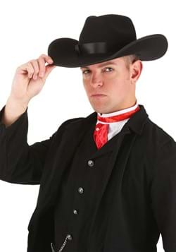 Cowboy Costume Hat - Black