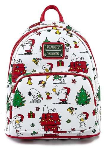 Loungefly Peanuts Holiday Mini Backpack
