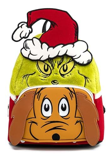 Loungefly Grinch and Max Mini Backpack