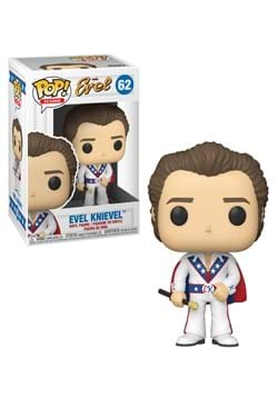 Funko POP Icons Evel Knievel with Cape Figure