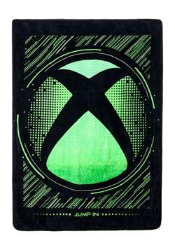 Xbox Logo Digital Fleece Throw