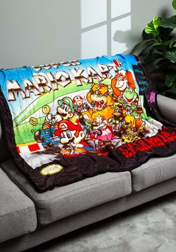 Super Mario Kart Digital Fleece Throw_update