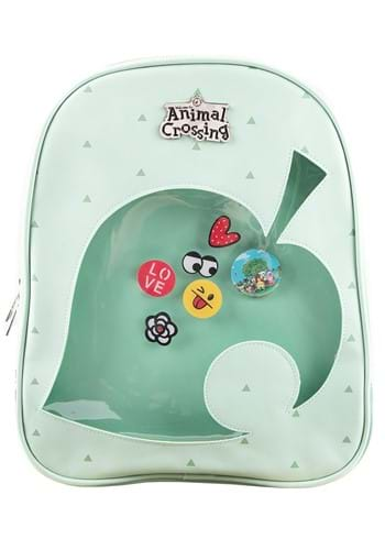 Animal Crossing Leaf ITA Mini Backpack for Women
