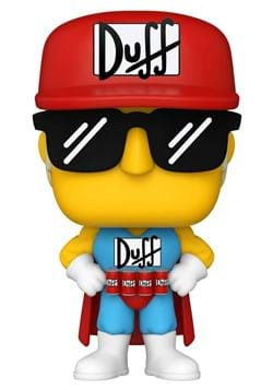 POP Animation Simpsons Duffman Update