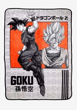Dragon Ball Z Goku Blanket
