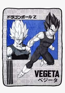 Dragon Ball Z Vegeta Blanket