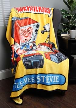 Garbage Pail Kids Tee Vee Stevie Blanket