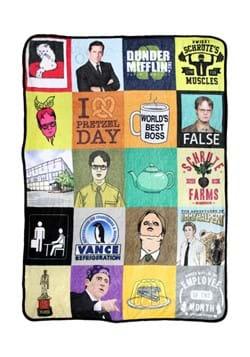 The Office Sticker Bobe 45 x 60 Fleece Blanket