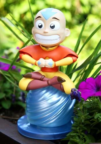 """Avatar the Last Airbender Aang 8"""" Garden Gnome Upd"""